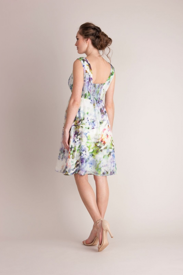 Seraphine Luxe Felicity Floral Silk Dress-15662