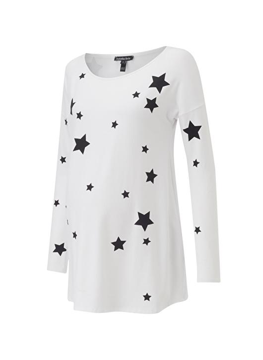 stylish star print top