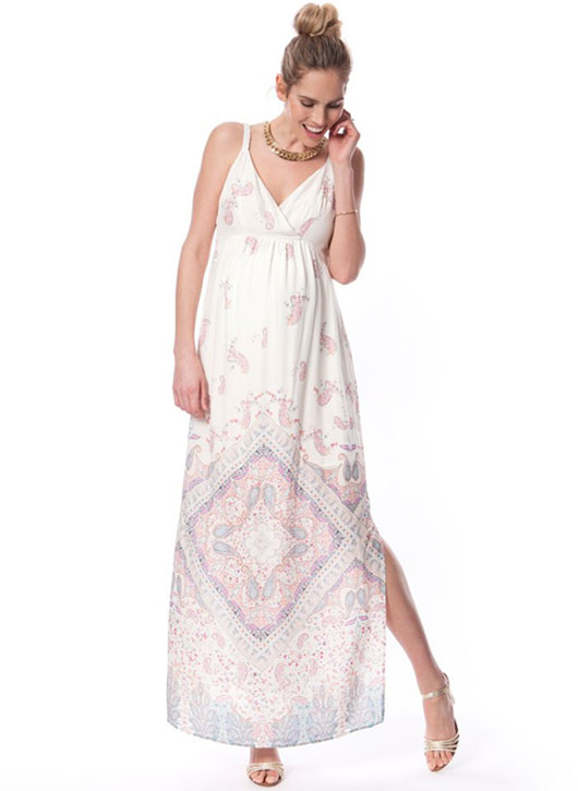 Seraphine printed maxi dress
