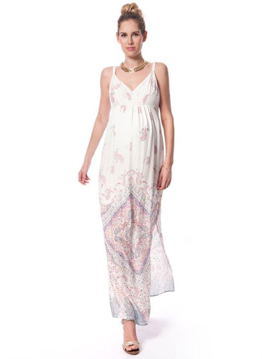 maternity floral maternity dress