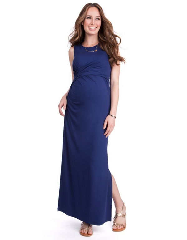 Lexington Maternity & Nursing Maxi Dress