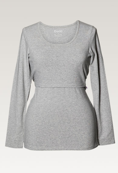 Boob classic Long Sleeve maternity and nursing top