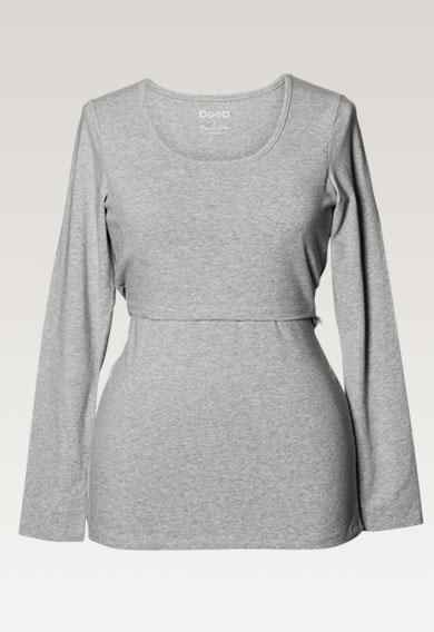 Boob classic Long Sleeve maternity and nursing top