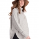 Alma Textured Kmnit Cape Maternity Sweater