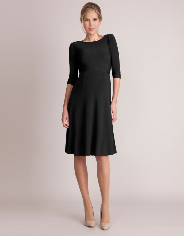 Christine luxuey low back maternity dress