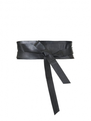 Japanese obi style maternity belt