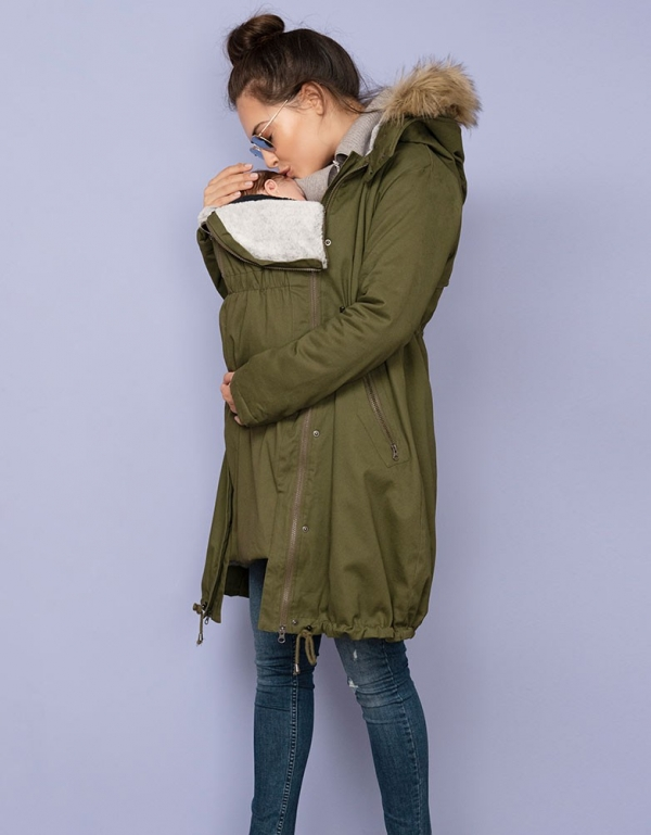 Seraphine Penelope 3 in 1 Maternity Parka-16020