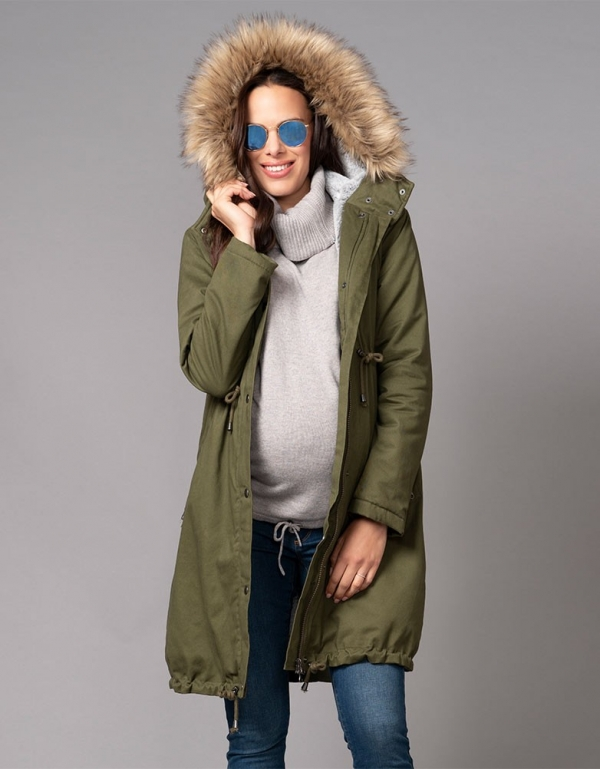 Seraphine Penelope 3 in 1 Maternity Parka-16019