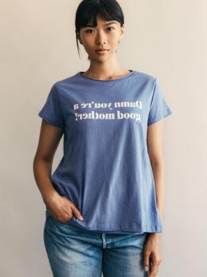 760ea438c3bd8 Chari-Tee for Maternity & Nursing in Country Blue · Boob Design