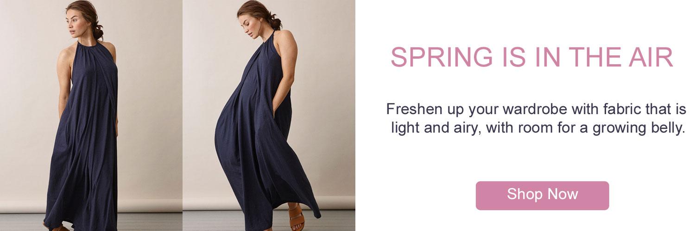 Spring Maternity Nursing Clothes